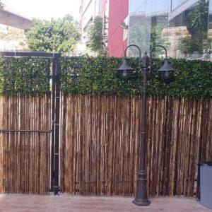 גדר מלאכותית ירוקה